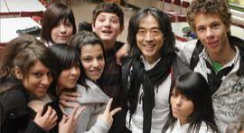 Xin Peng Wang mit Teilnehmern